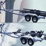 Speed Boat - Double Axle-t