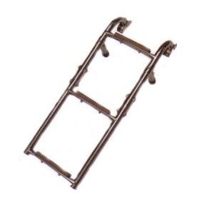 Folding Ladder wood tread 2 + 2 SST