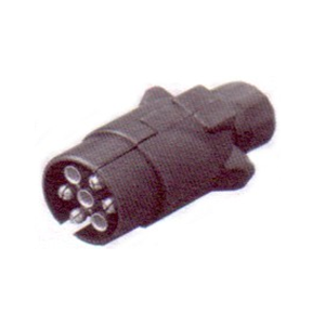 Large 7 pin Plug plastic - Male