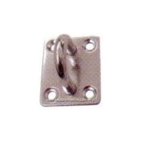 Swivel eye plate with out ring